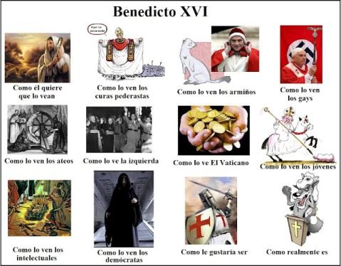 Benedicto XVI bajo diferentes ópticas